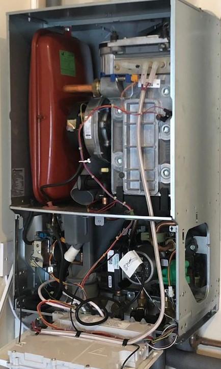 Emergency Boiler Repairs East Kilbride - Open Boiler