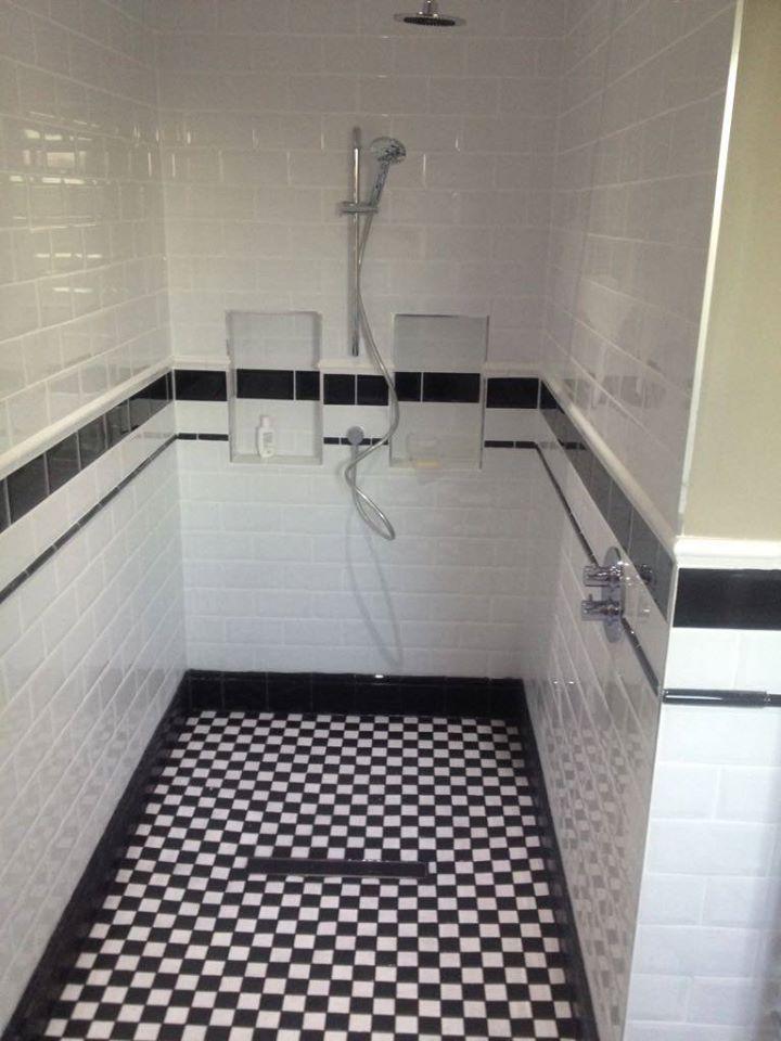 1st Plumbers East Kilbride - Vintage Wet Room
